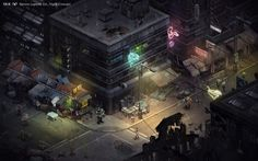 A First Look At The Characters And Cityscapes Of Shadowrun Returns | Kotaku Australia