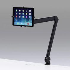 CR-LATAB13【7~11インチ対応iPad・タブレット用アーム】iPad・タブレットを任意の位置で設定できるクランプ式アーム。7~11インチ対応。 - サンワサプライ株式会社
