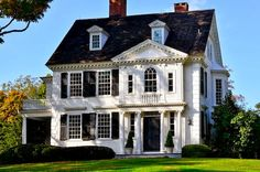 traditional colonial home