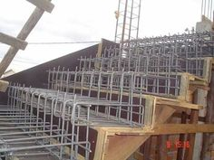 Best Cantilevered Concrete Stair Formwork And Reinforcement 400 x 300