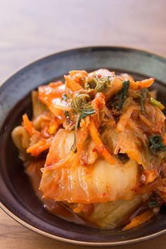 Piquant and pungent, this easy-to-make kimchi is delicious when fresh, with a flavor that develops as it matures.