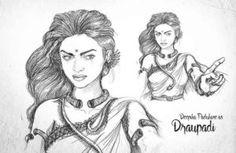 S S Rajamouli Mahabharata Imaginery Character Sketches: See Pics