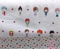 NEW 40*50cm 2pcs/lot Cotton Patchwork fabric quilts tecido sewing baby Bedding fabrics tissu Handmade Doll DIY Cloth