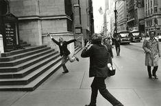 Lee Friedlander | Garry Winogrand and John Szarkowski, New York City (1975) | Available for Sale | Artsy