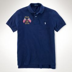 PRL The Custom USA Crossed-Flags Polo.