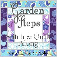Garden Steps Stitch and Quilt Along 2012 (embroidered stitched blocks quilt)