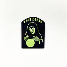 Death Seer Lapel Pin