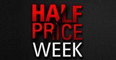 Varios de los mayores torneos de PokerStars.es tendrán su entrada reducida a la mitad del 1 al 7 de abril.   http://www.kalipoker.es/noticias-y-promociones/half-price-week-del-1-al-7-abril-en-pokerstars.html