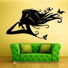 Wall Vinyl Sticker Decals Decor  Haircut  Salon by StickersForLife, $27.99