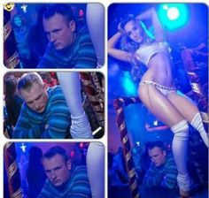 dont worry be happy - Menwhile in the striptease club #striptease #club #bar #show #bored #boring - Funomenia