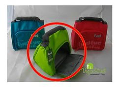 Fuel-Insulated-Kids-Lunch-Tote-Bag-Green-with-Soft-Grip-Handle-BPA-Free-NEW