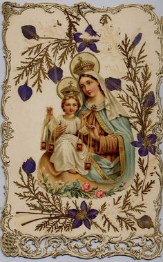 Prayer to Our Lady of Carmel, from Cloister Cottage