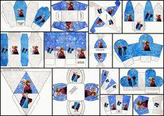 Cumpleaños de Frozen: Cajas para Imprimir Gratis. | Ideas y material gratis para fiestas y celebraciones Oh My Fiesta!