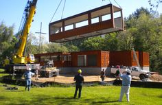 Placing-Containers Smoky-Park-Supper-Club Asheville NC | Form & Function Architecture