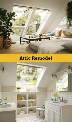 Are you a homeowner looking for a way to create an escape space for yourself in the comfort of your own home? Teenage Attic Bedroom, Attic Bedroom Small, Attic Bedroom Designs, Attic Playroom, Attic Bathroom, Attic Rooms, Attic Renovation, Attic Remodel, Escape Space