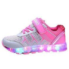 Oferta: 11.34€. Comprar Ofertas de KiwiTwo Zapatos LED de primavera y verano respirable del otoño 7 colores USB Zapatos lámpara recargable niños Zapatos de Hall barato. ¡Mira las ofertas!