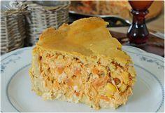 Ingredientes: Massa:  3 xícaras de farinha de trigo; 200 g de margarina forno e fogão; 1 ovo; 4 colheres (sopa) de leite; Pitada de sal; Recheio a seu gosto (frango, palmito