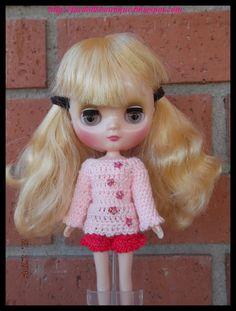Jersey + shorts para Middie Blythe de mamimonster por DaWanda.com