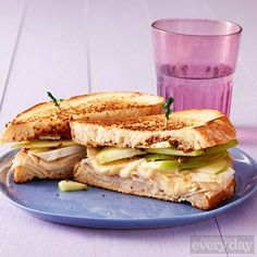 Turkey & Apple Grilled Cheese