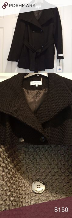 """""""Make Offer"""" Calvin Klein Double Breasted Coat 23"""" across the chest,  29"""" long. Calvin Klein Jackets & Coats"""