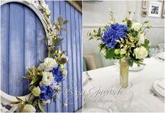 Олеся Гавриш - свадебная флористика и декор - Сине-золотая свадьба