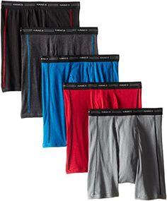 Original Penguin Boys 5-Pack Tagless Printed Boxer Briefs 100/% Cotton Jersey