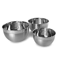 Stainless Steel Mixing Bowls - Bed Bath & Beyond  $7.99 - $15.99