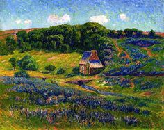 Farm in the Breton Countryside-Henri Moret