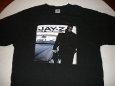 Vintage 90's Jay-Z Vol II Hard Knock Life Shirt Sz XL Rap Hip Hop Concert RARE