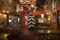 Safe House, Milwaukee, WI - Bar and Restaurant - has a Cold War spy theme with lots of interesting memorabilia, also houses a large portion of the autograph collection of the Milwaukee Press Club on loan from the University of Wisconsin-Milwaukee