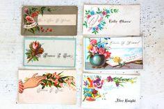 cards Vintage calling