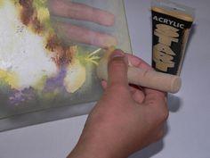 Декупаж - Сайт любителей декупажа - DCPG.RU   Художественный декупаж тарелочки с рисовой бумагой