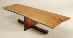 George Nakashima-inspired Coffee Table