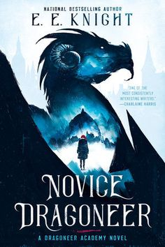 "Read ""Novice Dragoneer"" by E. Knight available from Rakuten Kobo. In the first book in an exciting new coming-of-age fantasy series from the author of theAge of Fire series,an impoverish. Fantasy Book Covers, Book Cover Art, Fantasy Series, Fantasy Books, Book Cover Design, Book Design, High Fantasy, Ace Books, Books To Read"