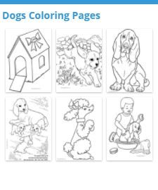 Great Collection Of Dogs Coloring Pages Materials Selected By Raisingourkids Your Students