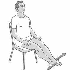 Gonartrosi (artrosi del ginocchio): 8 esercizi per stabilizzare Keep Fit, The Cure, Health Fitness, Yoga, Medicine, Exercises, Diet, Health, Stay Fit