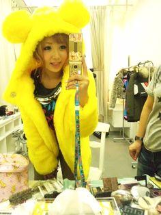#gyaru #yellow #cute