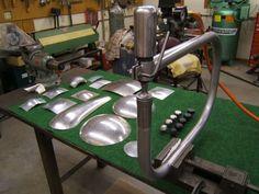 built planishing hammer.: