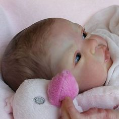 Reborn Baby Doll Esme/Laura Lee Eagles a Polly's Perfect Baby by Rubietta Gray