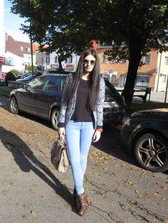 New Yorker Sunglasses, H&M Blazer, H&M Blouse, H&M Bag, New Yorker Watche, Tally Weijl Pants
