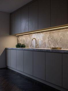 60 Gorgeous Black Kitchen Ideas for Every Decorating Style #kitchendesign #kitchenideas | GentileForda.Com