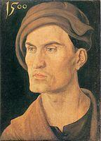 Bildnis eines unbekannten Mannes, 1500, Alte Pinakothek