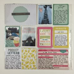 Mrs Crafty Adams: Project Life - February 2015  - Studio Calico Cirque Project Life Kit, Studio Calico Odyssey Project Life Kit