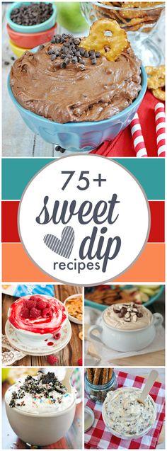 Sweet Fruit Dips including Pretzel Crisps pairings via Dip Recipes, Fruit Recipes, Sweet Recipes, Dessert Recipes, Just Desserts, Delicious Desserts, Yummy Food, Health Desserts, Sweet Desserts