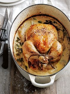 milk-braised dijon chicken from donna hay magazine autumn issue #86
