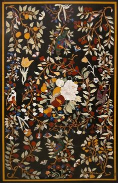 Beautiful Pietra Dura Table Top