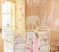 Delightful Baby Room Animal Theme  Safari Baby Room Rainforest Theme Rooms Nursery Ideas