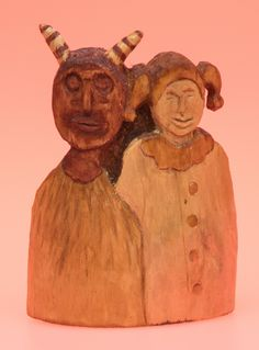 Wooden Sculpture, perhaps Native American Yard Sale Finds, Hand Carved, Nativity, Charity, Native American, Things To Come, Carving, Sculpture, Statue