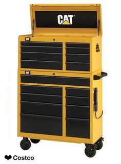 "Cat 41"" Tool Chest and Cabinet Combo"