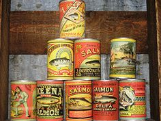 Canned salmon salad